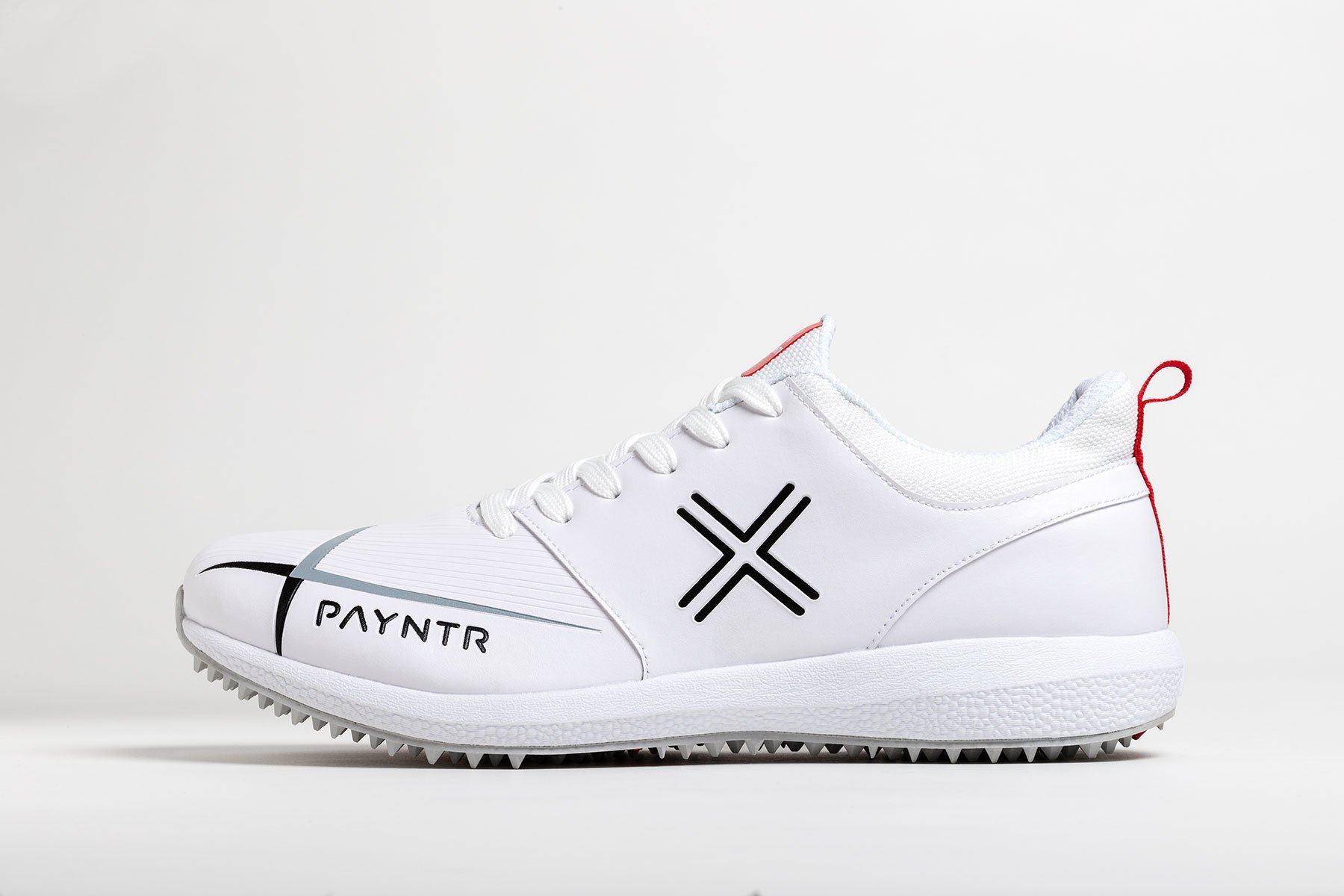 Payntr V Pimple - Classic White Cricket Shoes