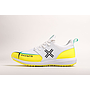 Payntr X MK3 Evo Pimple - White & Yellow Cricket Shoes